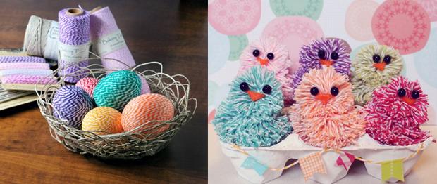 Húsvéti dekor pékzsineg