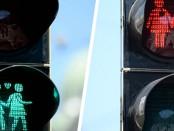 Bécsi gyalogos közlekedési lámpa